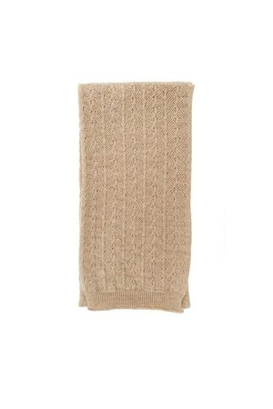 Hvid Scarf Eduart (0-3y) - sand