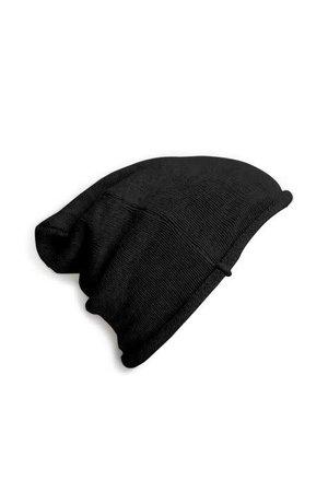 Collégien Beanie - noir de charbon