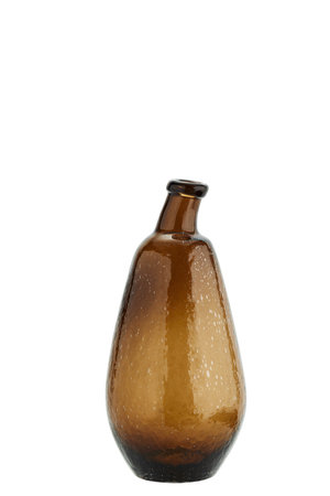 Glazen vaas met organische vorm