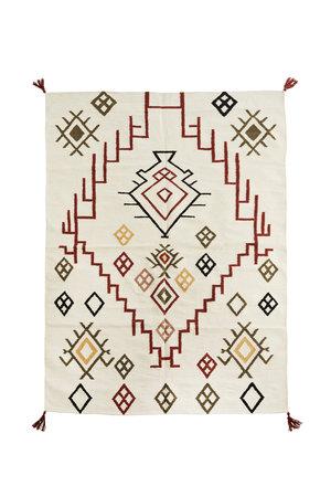 Handgeweven katoenen tapijt