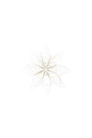 Kerstversiering - Ouilling - wit