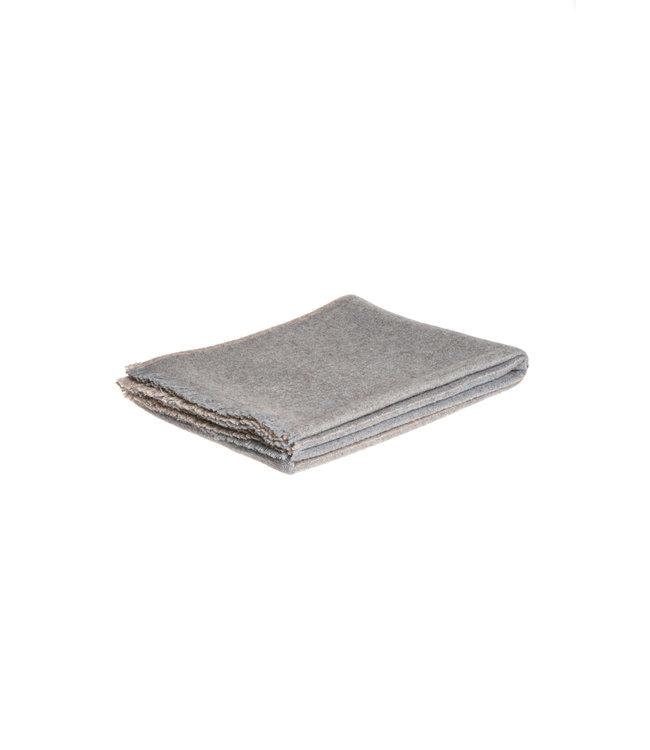 Teixidors Throw Nomad - lead grey
