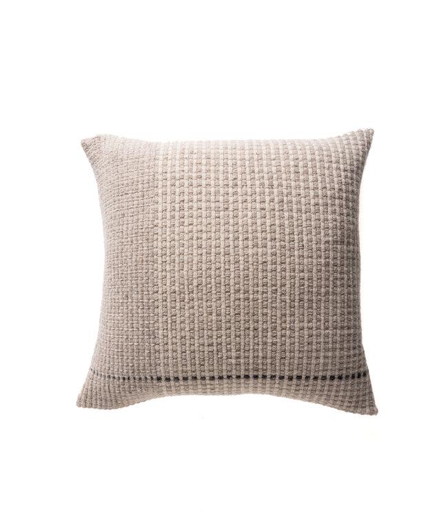 Teixidors Cushion temps - off-white/light grey