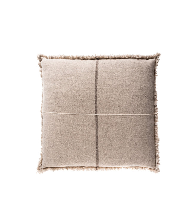 Floor cushion Zabu Thor - grey/off-white