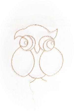 Zoé Rumeau Lighting owl