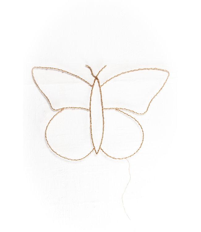 Wandverlichting - vlinder