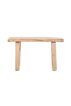 Tough bench elm wood 86cm