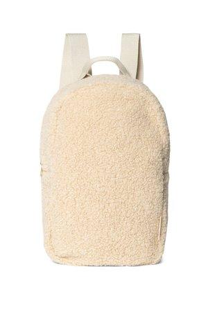 Studio Noos Mini chunky backpack - ecru