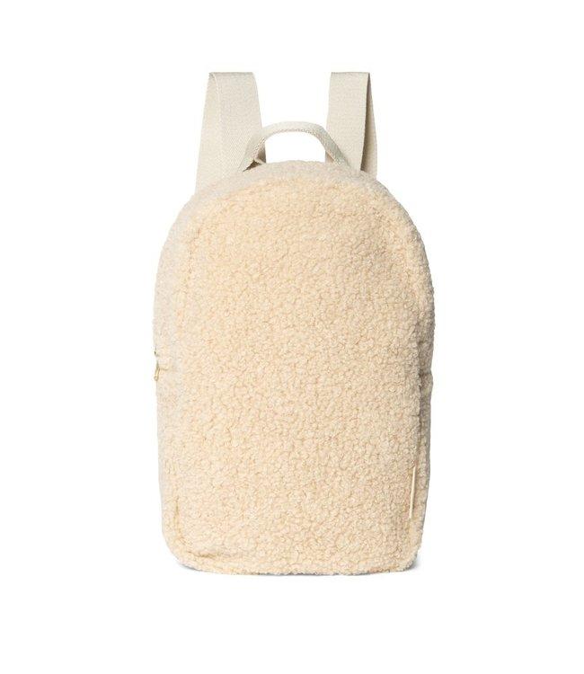 Mini chunky backpack - ecru
