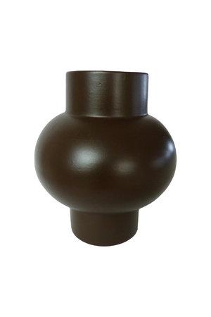 Vase 'Bulb' terracotta - brown