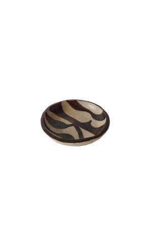 Bowl 'Terra' terracotta - natural/black