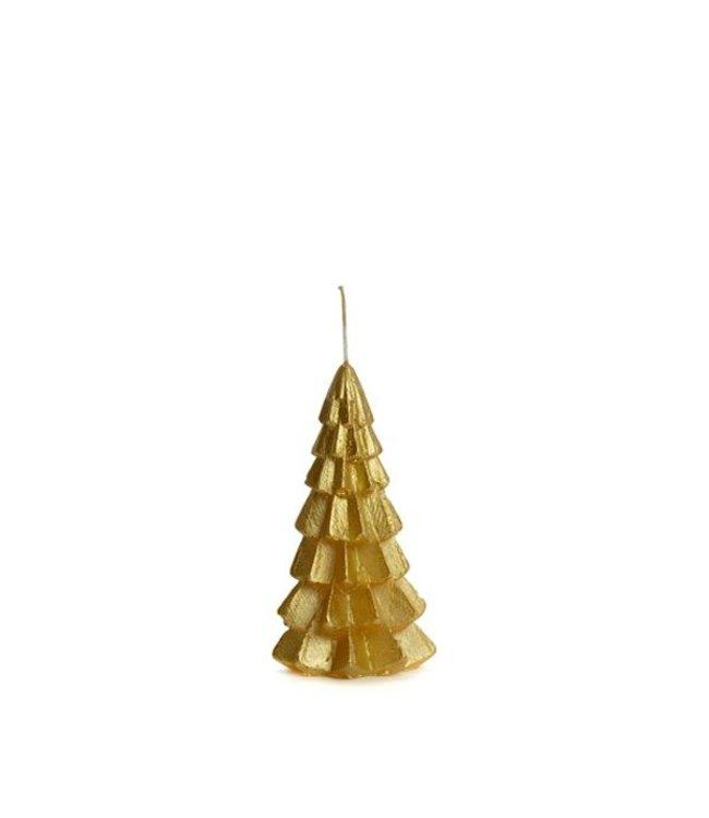 Kaars kerstboom XS - goud