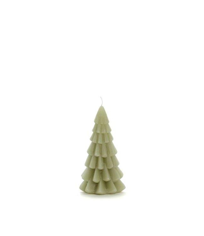 Kaars kerstboom XS - eucalyptus