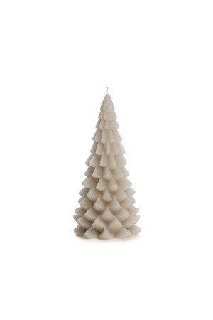 Kaars kerstboom M - linnen