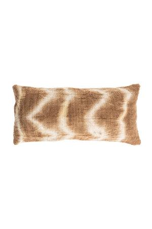 Cushion Bayeta fishbone - grège