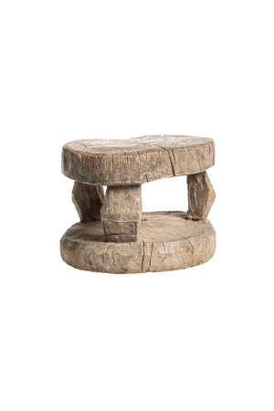 Old round stool Mossi # 1