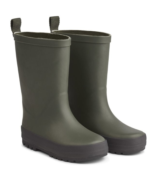 Liewood River rain boot - hunter/black mix