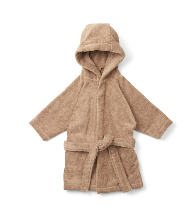 Konges Sløjd Terry bathrobe - beige tan