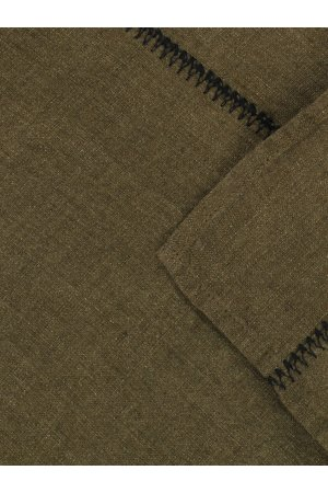 Caravane Tablecloth  Noé, washed linen - laurier