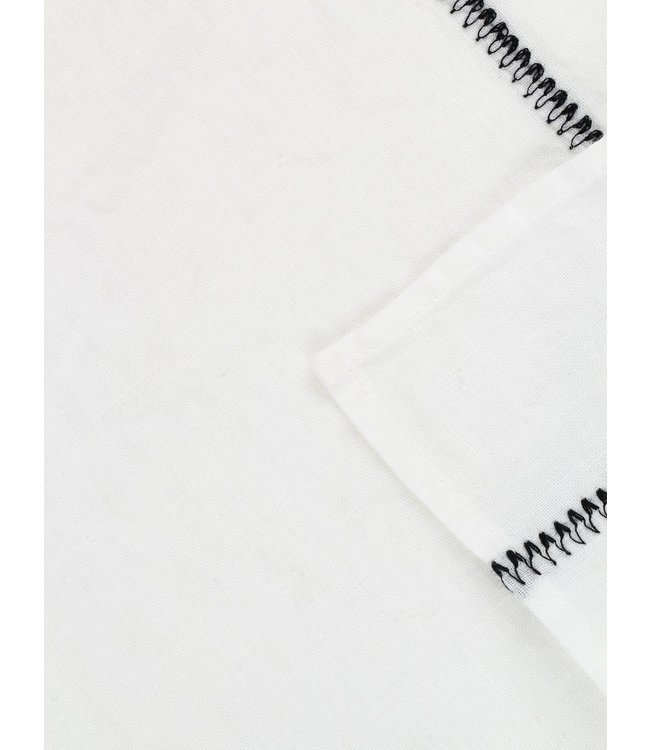 Caravane Tafelkleed Noé, gewassen linnen - neige