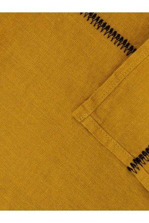 Caravane Tablecloth Noé, washed linen - mordore