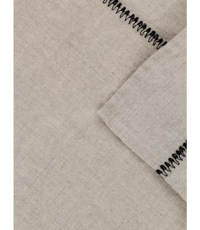 Caravane Tablecloth  Noé, washed linen - naturel