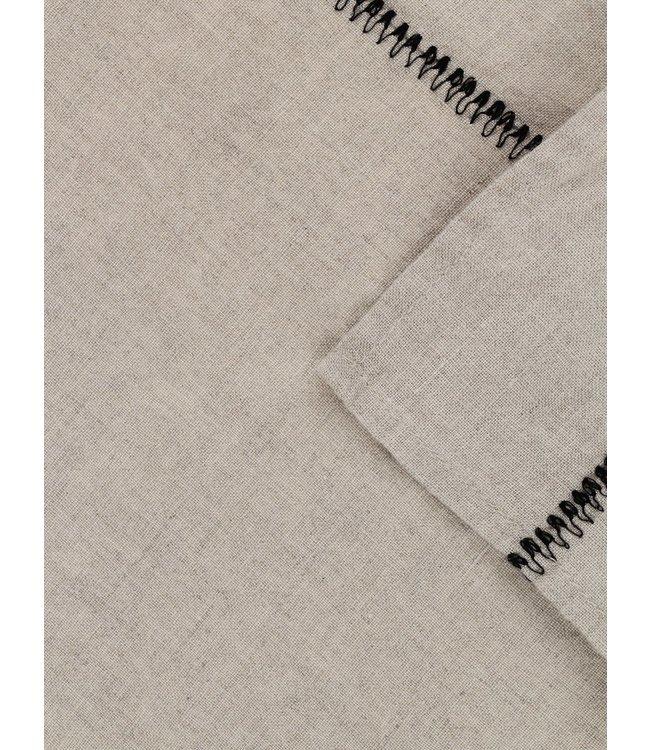 Caravane Tafelkleed Noé, gewassen linnen - naturel