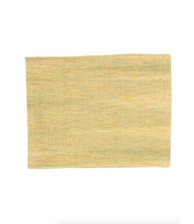 Caravane Tablecloth 'Daikha' - mimosa