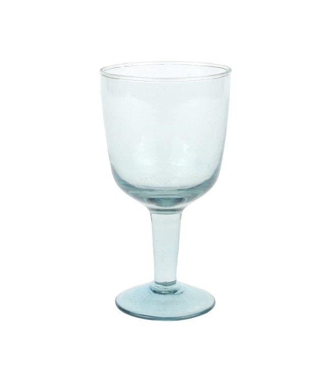 Recycled wine glass Hera - ecume - small