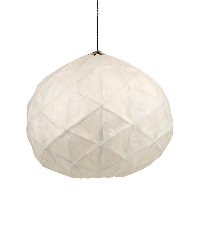 Hanglamp 'Pily' - rotan & papier