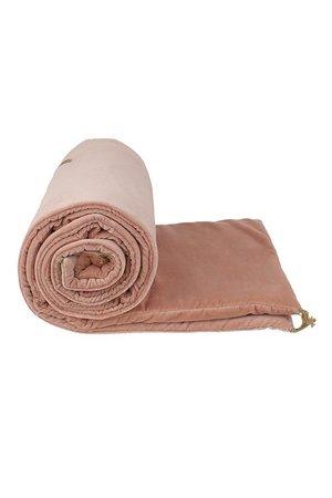 Caravane Velvet sofa cover - blush