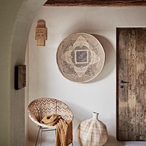 Wall art baskets