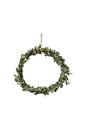 Christmas wreath - mistletoe L