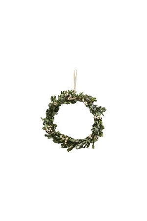Christmas wreath - mistletoe S