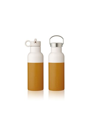 Liewood Neo water bottle - mustard/sandy mix