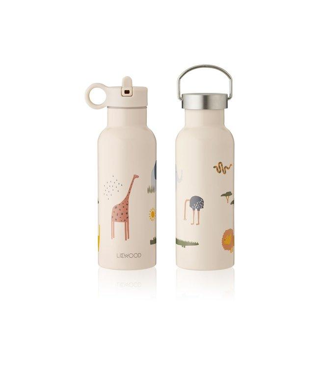 Liewood Neo water bottle - safari sandy mix