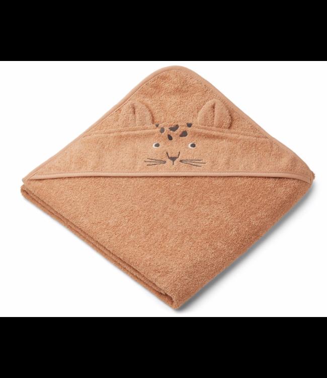 Liewood Augusta handdoek met capuchon - leopard apricot