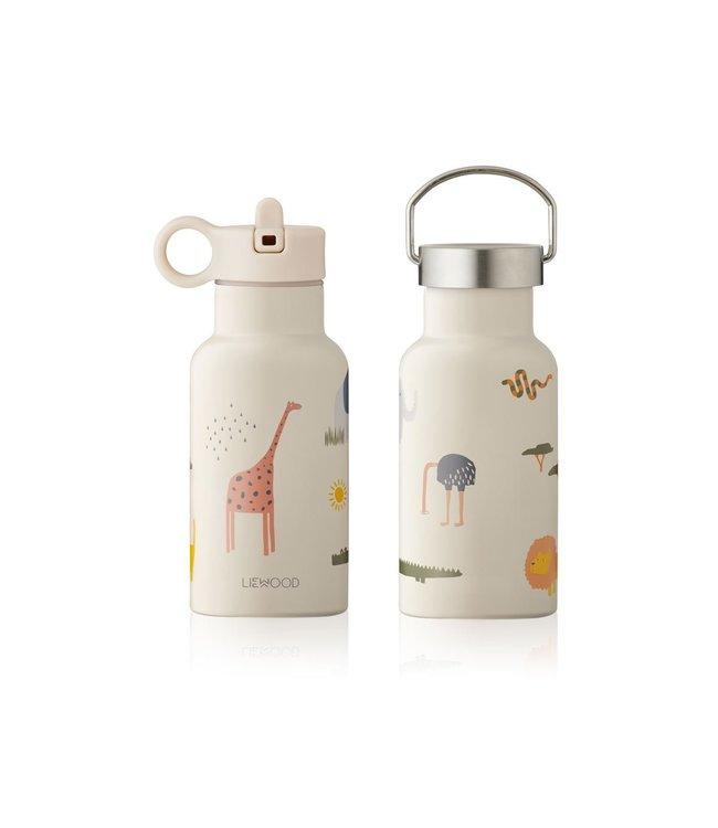 Liewood Anker water bottle - safari sandy mix