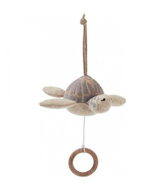 Music turtle - grey melange