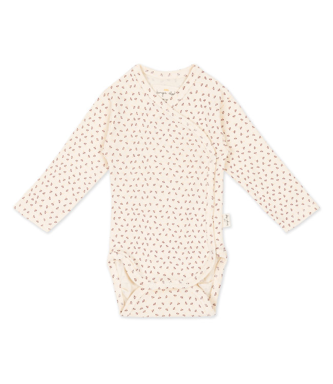 Konges Sløjd New born body - tiny clover beige