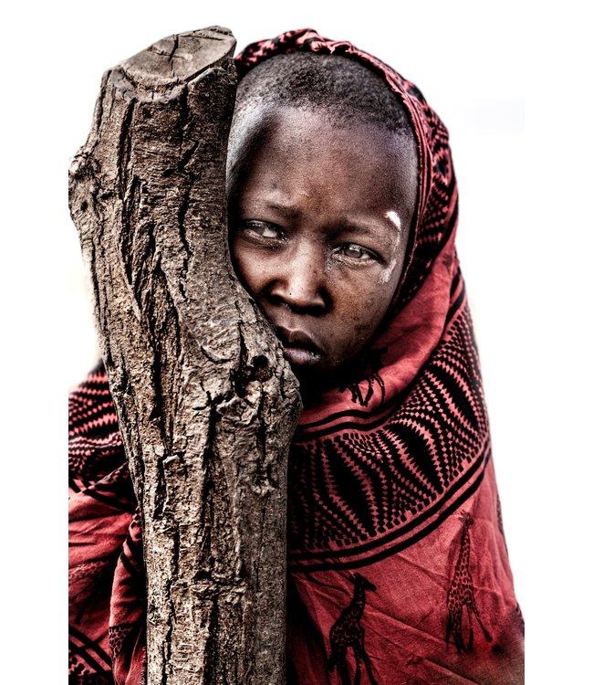 Serge Anton - Masai child