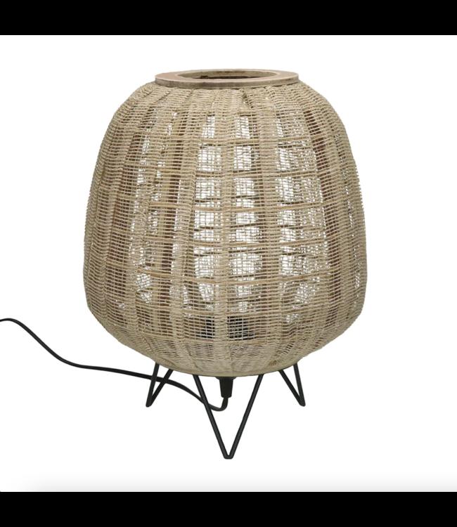 Table lamp bamboo 'Lokken'