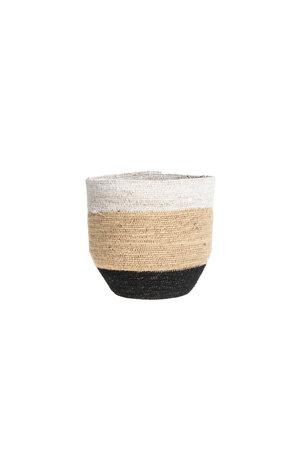 Basket tribe - black/white/nat M