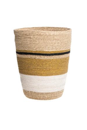 Basket desert - natural/white/black L