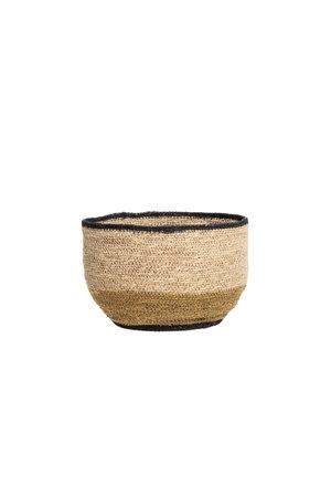 Basket desert - natural/gold/black S