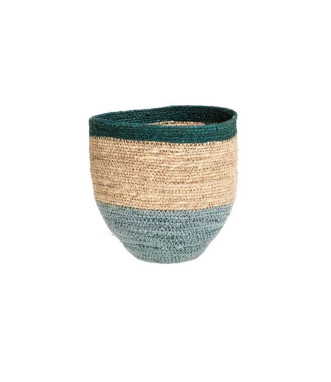 Basket Nile - green/nat/blue #1
