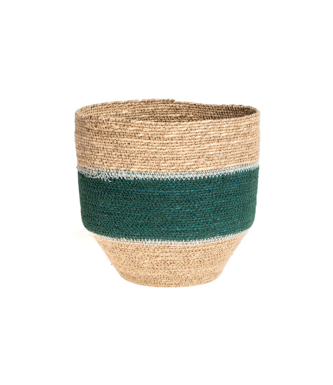 Basket Nile - green/nat/blue #3