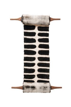 AAAA Bogolan totem - flexibility - white/black