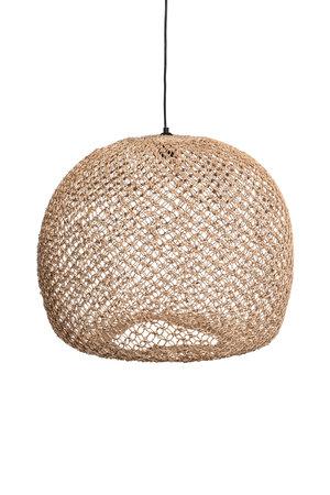 Caravane Hanglamp 'Balbi' bananenvezel - naturel boule XL