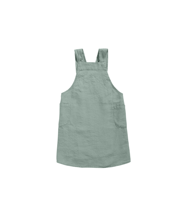 Linge Particulier Japanese apron linen - adult sage